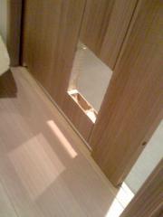 猫ドア穴開け