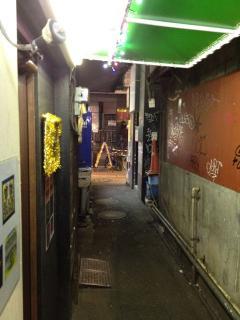 歌舞伎町路地裏