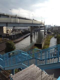 堀切駅前歩道橋